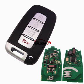For hyundai IX35 for Sonata,for veloster,for kia,for Cerato for sportage 4 button keyless  HITAG2 46CHIP 7952E with  315mhz