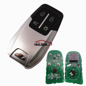 For Ferrari style KYDZ universal remote pcf7942 HITAG2 46chip 433MHZ