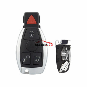 For Benz 3+1 button remote key blank with panic button