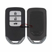 For Honda style KYDZ Smart Remote  Key HDZN-3 button remote pcf7942 HITAG2 46chip 433MHZ