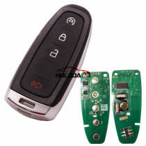 For Ford keyless 3+1 button remote key with PCF7953 AC1500 chip-315mhz ASK model