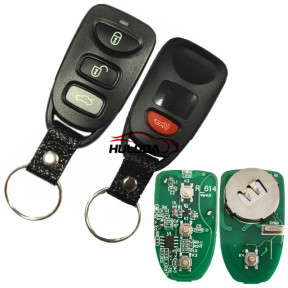 Face to face to learn the fix code remote, Frequency is 315MHz/433MHz/Ajust frequency, you can choose Battery is CR2016*2