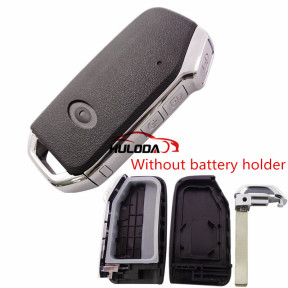 For Kia 3 button remote  key blank  without battery holder, buttons on the side