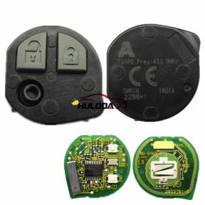 for Suziki 2 button remote key with PCF7961X(Hitag3) chip.for SUZUKI SWIFT 2017+ models  also support 2018 New Suzuki WagonR