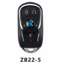 For Buick style ZB22 5 button  smart remote key For  KD-X2 generate new keys ,For produce any model  remote