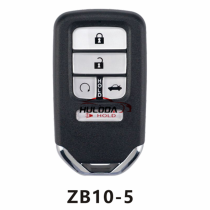 For honda style ZB10 5 button  smart remote key For KD-X2 generate new keys ,For produce any model  remote