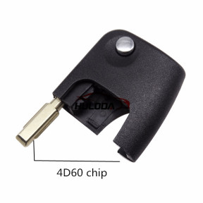 For Ford Mondeo remote key head with  4D60 chip