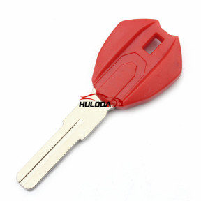 For Ducati motor  key blank(red)