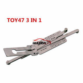 TOY47 Lishi 2 in 1 decode and lock pick for Toyota