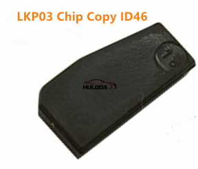 LKP03 transponder chip it is cloneable 7936 chip, VVDI key tool and KeyDIY KC machine can copy