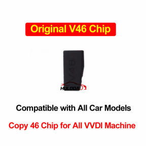 V46 Copiable 46 Chip, Original V46 Cemamic Car Key Chip Work for All Car Models Support VVDI Full Series of Machines