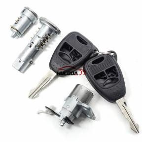 For Chrylser full set lock (ignition lock and left door lock and right door lock)
