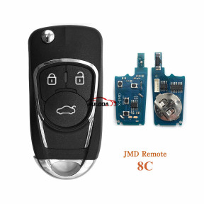 JMD Super Remote 8C Remote Replace TK5561A Chip for Handy Baby 2 Key Programmer