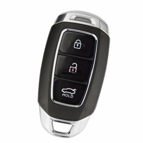 KYDZ smart 3 button remote key with pcf7942 HITAG2 46 chip 433MHZ