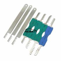 Pad lock Comb