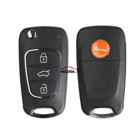 Xhorse Universal Remote Car Key XKHY02EN  3 Buttons for Hyundai VVDI Key Tool VVDI2 MINI Programmer English Version