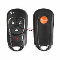 XHORSE VVDI English Version 3+1 Buttons  XKBU02EN for Buick Style Wire Universal Remote Key  for VVDI Key Tool VVDI2