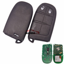 Original For Fiat 2 button remote key with 433Mhz