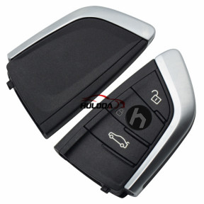 For BMW 3 button remote key With 433MHZ  with PCF7953P chip