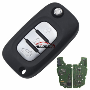 For Benz original smart 3 button remote key with 4A 434mhz PCF7961M