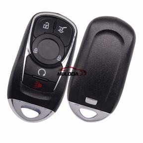For Buick 4+1 button keyless remote key blank