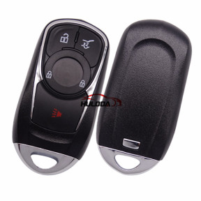 For Buick 3+1 button keyless remote key blank