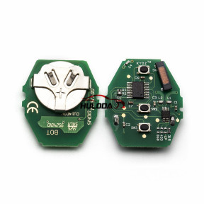 For BMW 5 Series CAS2 systerm 3 button  remote control with 315-LPmhz PCF7945chips