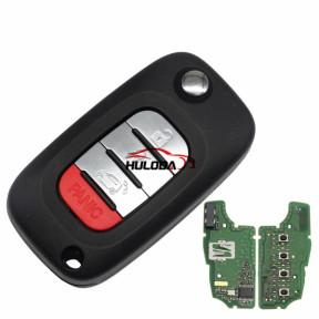 For Benz original smart 3+1 button remote key with 4A 434mhz PCF7961M