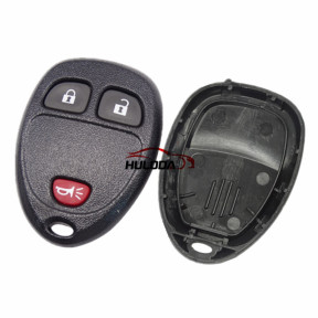 For Buick 2+1 button remote key blank Without Battery Place