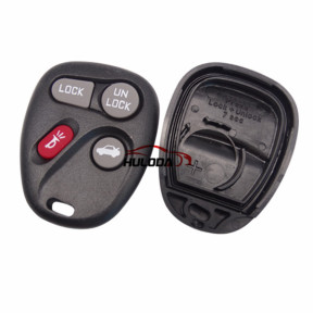 For Buick 3+1 button remote key blank With Battery Place
