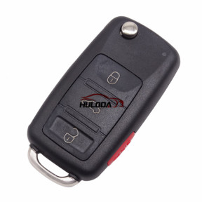 For Audi 3 button A8 Remote key blank without panic button