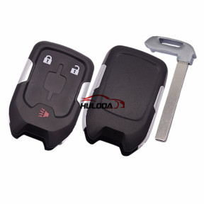 For Chevrolet 2+1 button remote key shell