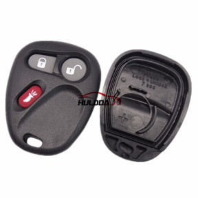 For Buick 2+1 button remote key blank With Battery Place