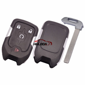 For Chevrolet 3+1 button remote key shell