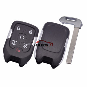 For Chevrolet 5+1 button remote key shell