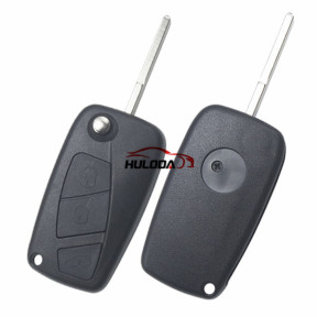 For Fiat 3 button remtoe key blank with special battery clamp with logo
