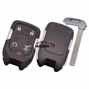 For Chevrolet 4+1 button remote key shell