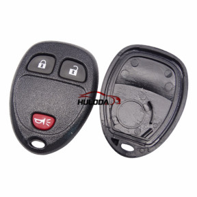 For GMC 2+1 button remote key blank With Battery Place