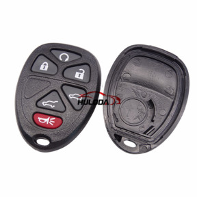 For GMC 5+1 Button remote  key shell with battery part