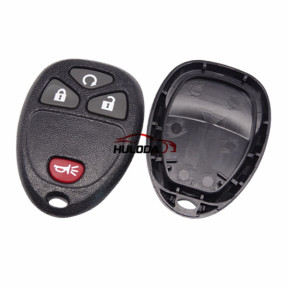 For GM 3+1 button remote key blank Without Battery Place