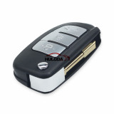 For Ford  Ford Mondeo Focus Fiesta Transit FO21 Uncut Blade Modified Folding Flip Remote Key Shell