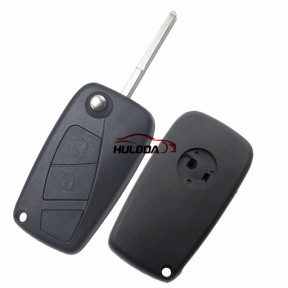 For Fiat 2 button remtoe key blank with special battery clamp