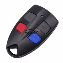For Ford 4 button remote key blank