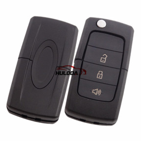 For Ford 3 button flip remote key blank