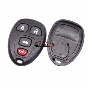For GMC 4 button remote key blank With Battery Place