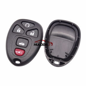For GMC 4+1 button remote key blank Without Battery Place