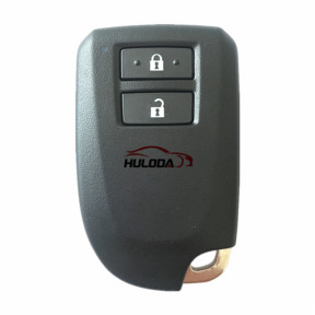 For Toyota original Yaris/VIOS 2 button remot key with 8A 315mhz PCB NO.:61E381-0010 FCC ID:BS2ET Year:2015-2017