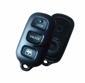 For Toyota 3+1 button key blank (the panic button is square)
