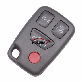 For Volvo 3+1 button remote key blank