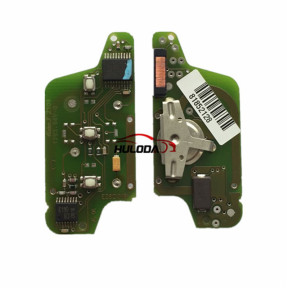 Original For  Citroen ASK 3 button flip remote control with 433Mhz PCF7941 Chip for 307&407 Blade ASK Model